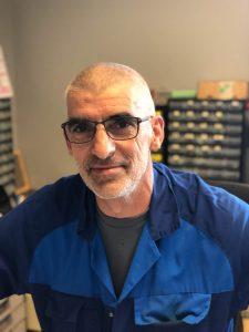 Sebastien - Chef d'atelier